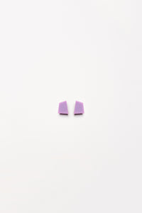 Pisa earclips in polyester
