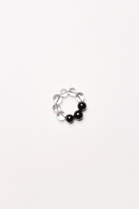Rimini bracelet in polyester, acrylic and leather