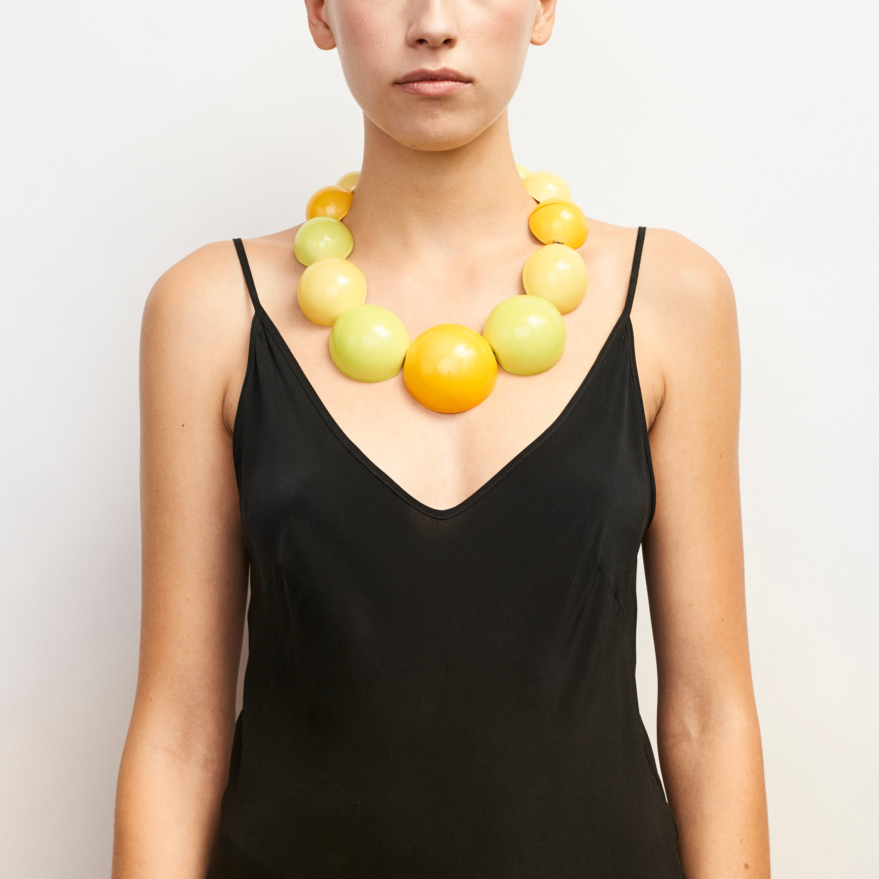 Palermo necklace in polyester
