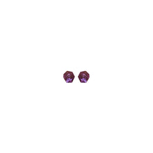 Load image into Gallery viewer, Hailey earring in purple polyester