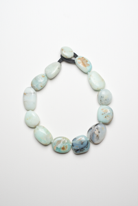 Necklace in andean opal
