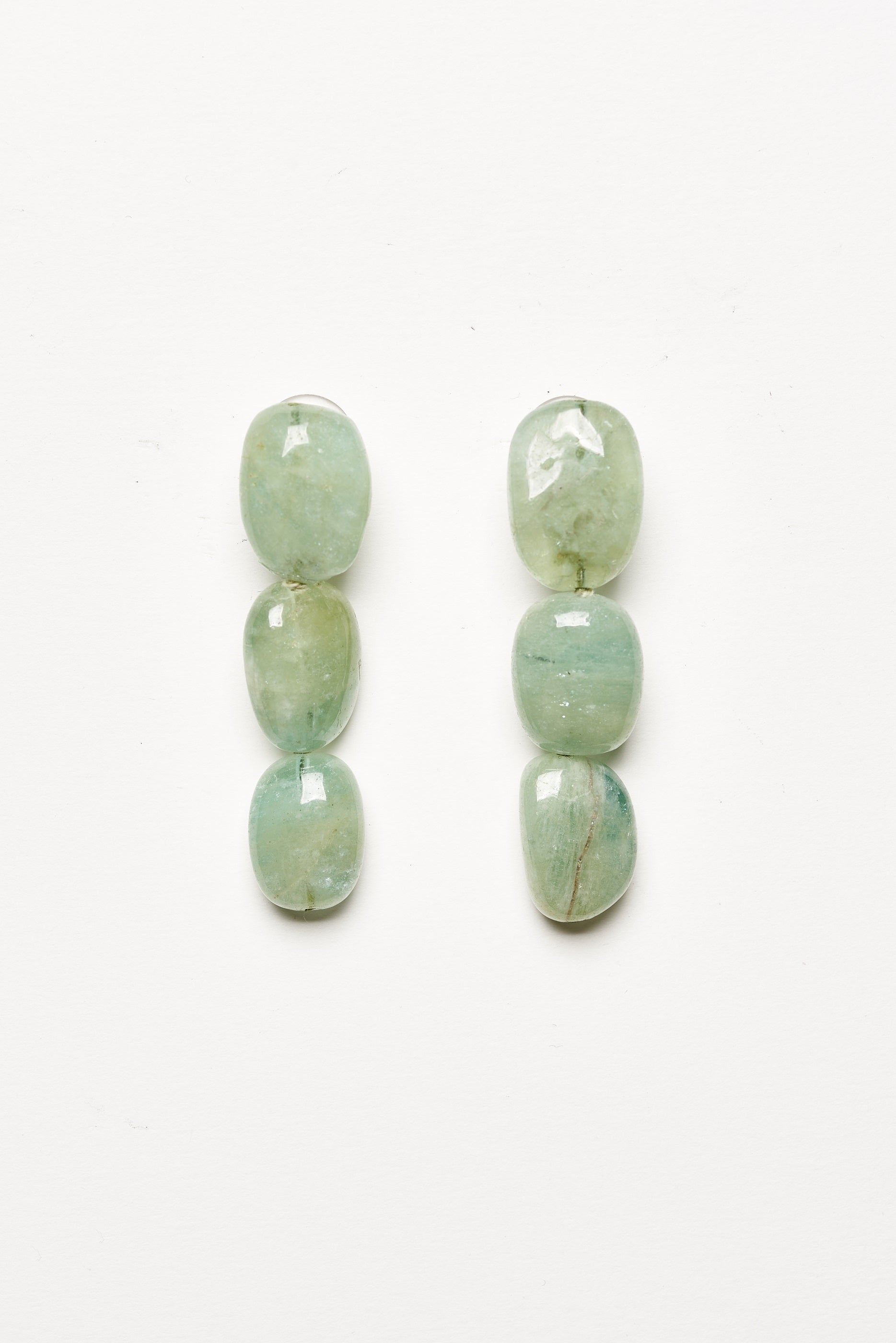 Earring in aventurine