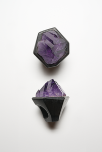 Ring in amethyst