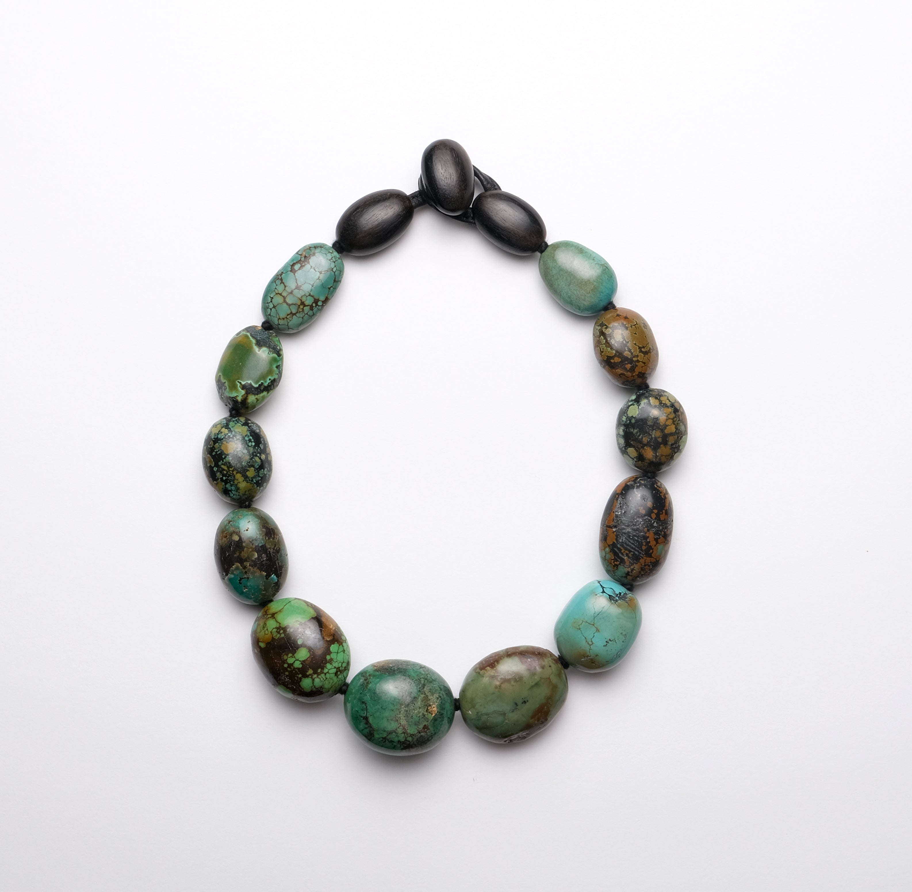 Necklace in turquoise