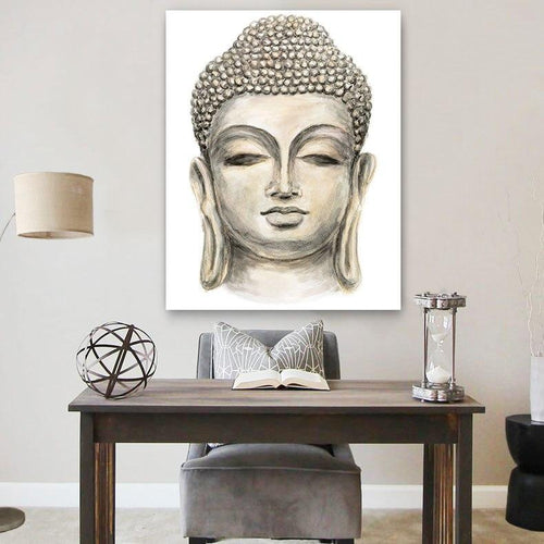 Limited Edition Buddha Modern Canvas Painting