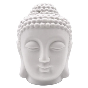 Ceramic Buddha Head Oil Burner/Diffuser - The Buddha Shoppe