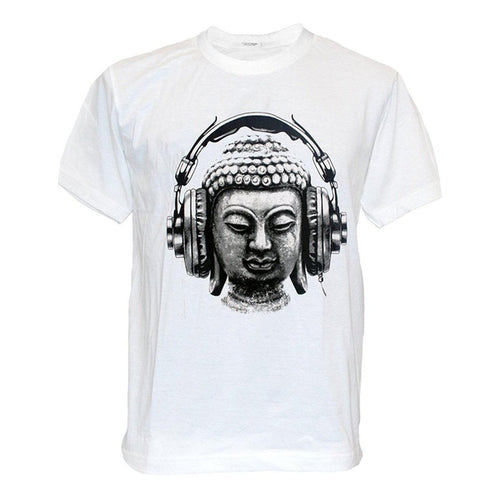 DJ Buddha Headphone Graphic Tee - The Buddha Shoppe