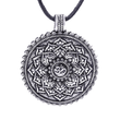 Load image into Gallery viewer, Antique Om Lotus Mandala Pendant Necklace - The Buddha Shoppe
