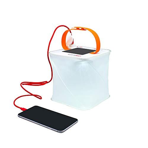 LuminAID PackLite Max 2-in-1 Camping Lantern and Phone Charger | For Backpacking, Emergency Kits and Travel | As Seen on Shark Tank - SHTFSTOCKPILE.COM