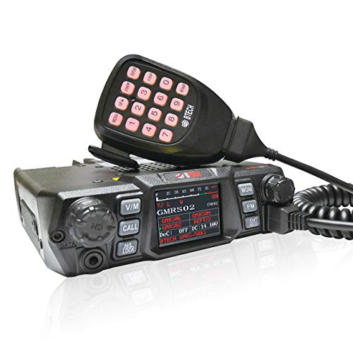 BTECH Mobile GMRS-50X1 50 Watt GMRS Two-Way Radio, GMRS Repeater Capable, with Dual Band Scanning Receiver (136-174.99MHz (VHF) 400-520.99MHz (UHF)) - SHTFSTOCKPILE.COM