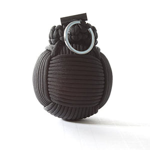Holtzman's Survival Kit Paracord Grenade The #1 BEST 48 tool emergency kit (Solid Black) - SHTFSTOCKPILE.COM