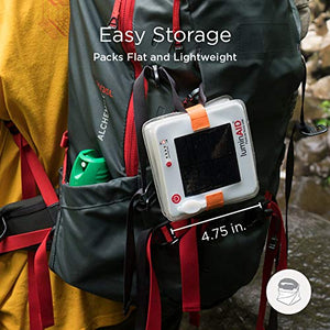 LuminAID PackLite Spectra USB Solar Inflatable Color Changing Waterproof Light - SHTFSTOCKPILE.COM