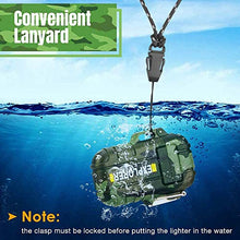 Load image into Gallery viewer, Lighter,Plasma Lighter Waterproof Windproof Arc Lighter USB Rechargeable Electric Lighters with Emergency Whistle for Hiking,Outdoor,Adventure,Survival Tactical - SHTFSTOCKPILE.COM
