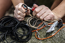 Load image into Gallery viewer, Holtzman's Survival Kit Paracord Grenade The #1 BEST 48 tool emergency kit (Solid Black) - SHTFSTOCKPILE.COM