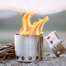 Load image into Gallery viewer, Solo Stove Lite - Portable Camping Hiking and Survival Stove | Powerful Efficient Wood Burning and Low Smoke | Gassification Rocket Stove for Quick Boil | Compact 4.2 Inches and Lightweight 9 Ounces - SHTFSTOCKPILE.COM
