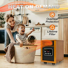 Load image into Gallery viewer, Dr Infrared Heater Portable Space Heater, 1500-Watt