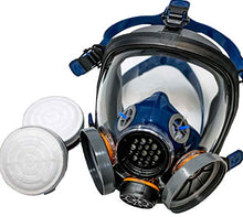 Load image into Gallery viewer, PT-100 Full Face Gas Mask & Organic Vapor Respirator- ASTM Tested - 1 Year Full Manufacturer Warranty - Eye Protection - SHTFSTOCKPILE.COM