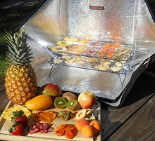Load image into Gallery viewer, Sunflair Portable Solar Oven Deluxe with Complete Cookware, Dehydrating Racks and Thermometer - SHTFSTOCKPILE.COM