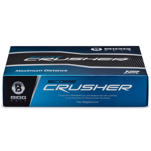 Score Crusher Golf Balls - White - 1 Dozen