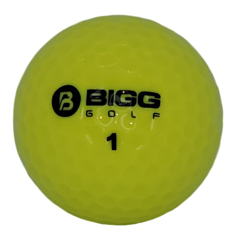 Score Crusher Golf Ball - High Visibility Yellow - 1 Dozen