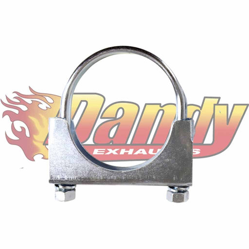 2 3/8 Inch (60Mm) Heavy Duty U-Bolt Exhaust Clamp - Suits Expanded 2.25 Inch Pipe - DandyExhaust