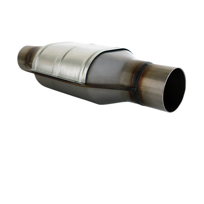 2 inch Catalytic Converter Euro 4 Ceramic Core Cat Oval Universal