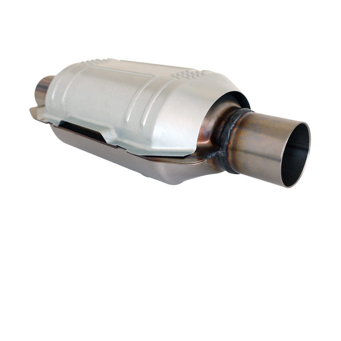 2 inch Universal Oval Catalytic Converter - Ceramic 400 CPSI - EUROII EURO2