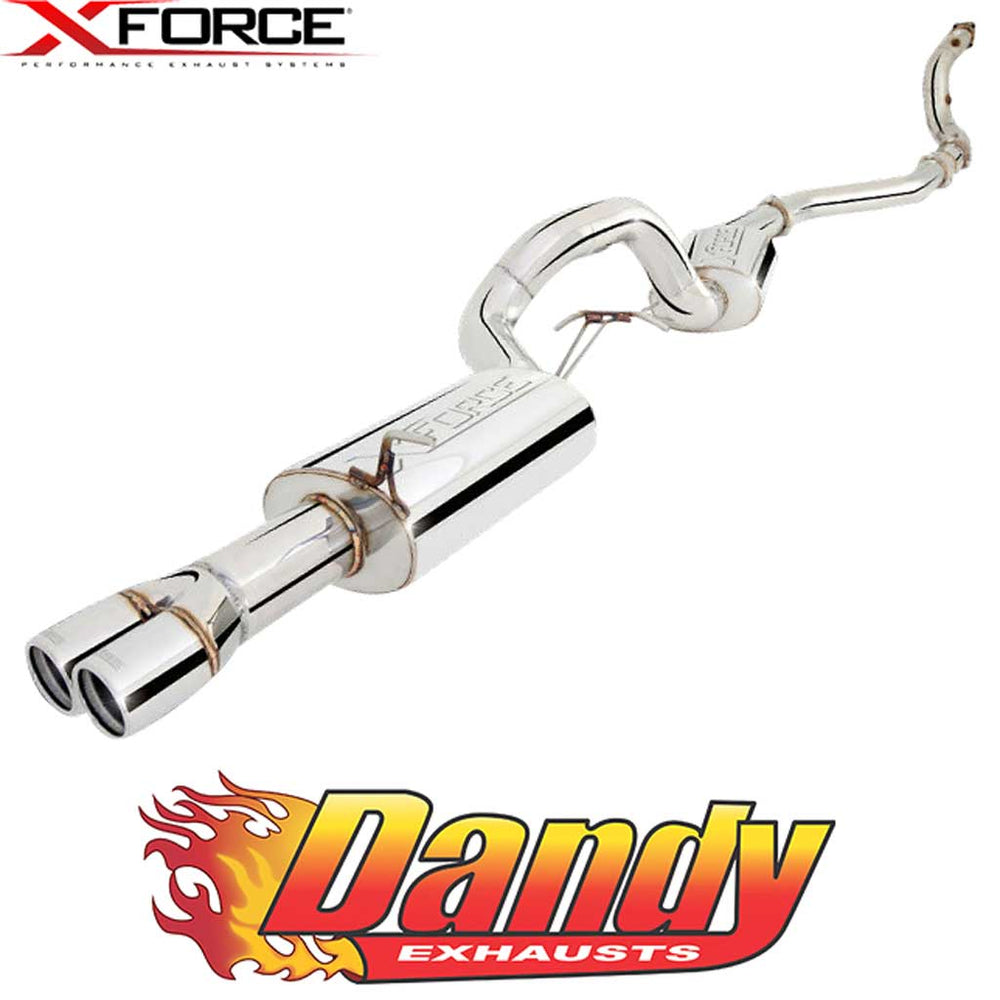 "Ford Falcon FG G6E XR6 Turbo Sedan XFORCE Turbo Back Exhaust 4"" to 3.5"" - Raw 409"