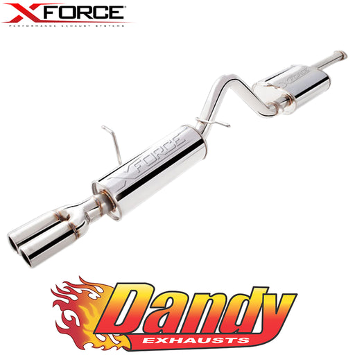 "Ford Falcon BA BF FG XR6 Ute (Non Turbo) XFORCE 2.5"" Catback Exhaust - Polished SS"