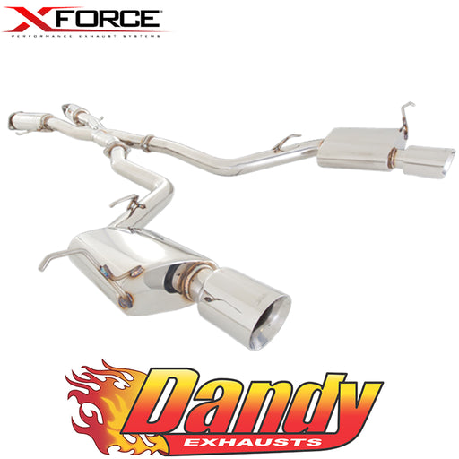 "Jeep Grand Cherokee SRT8 6.4L 2012-17 Twin 3"" Catback Exhaust - Dual Wall Tips"