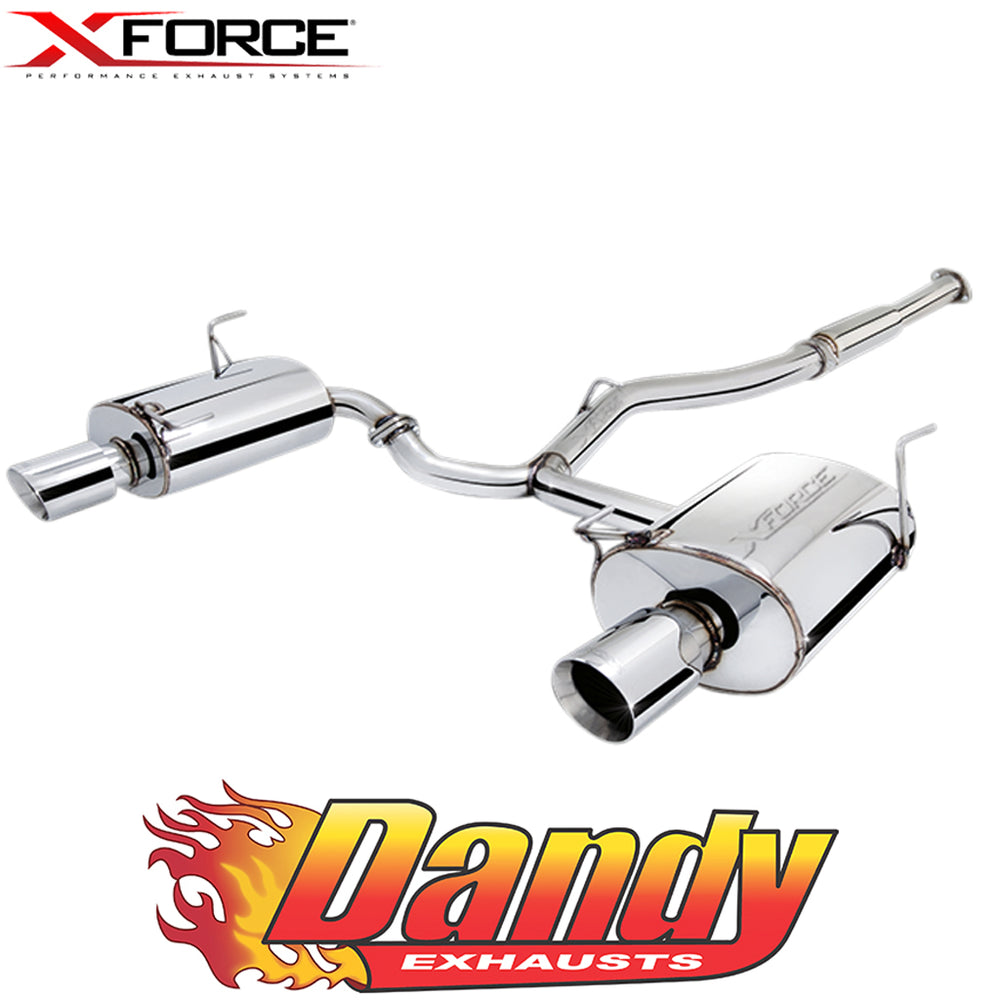 "Subaru Impreza WRX Sedan 2009 - 2011 XFORCE 3"" Catback Exhaust - Polished SS"