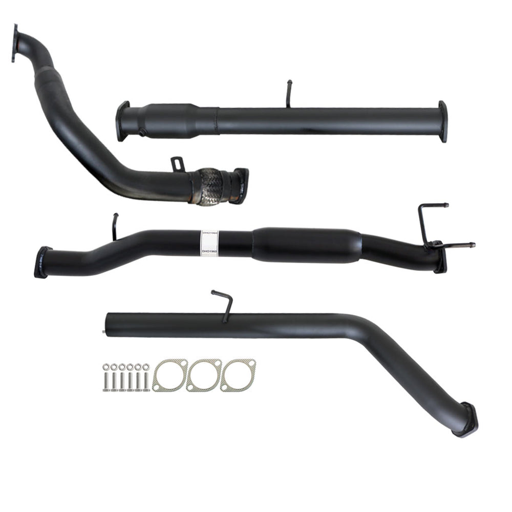 PJ PK Ford Ranger 2.5L & 3L Manual 3 inch Turbo Back Exhaust With Cat & Hotdog