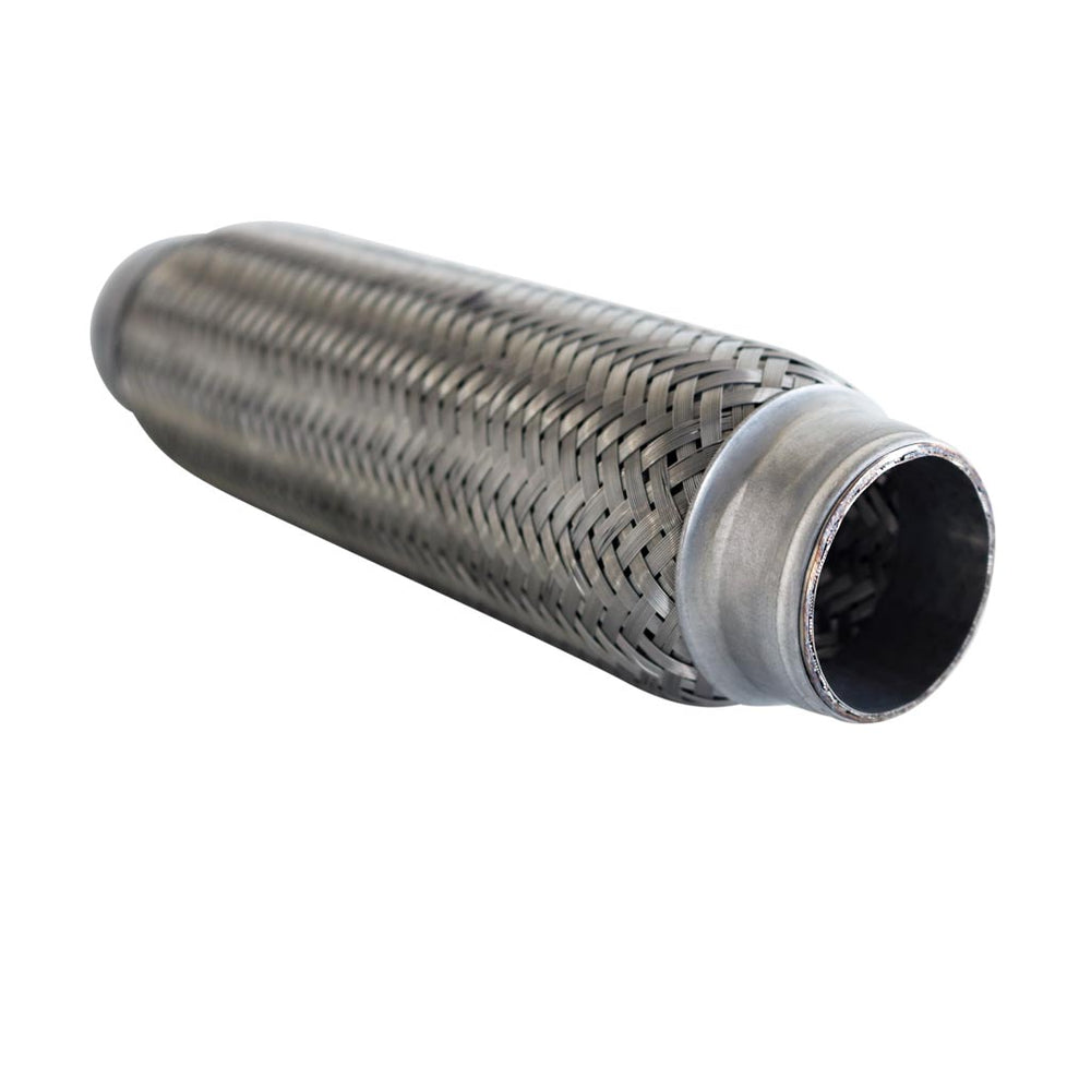Flexible Bellow 1 3/4 inch x 10 inch Long - Stainless Exhaust Pipe Joint - Inner Braid