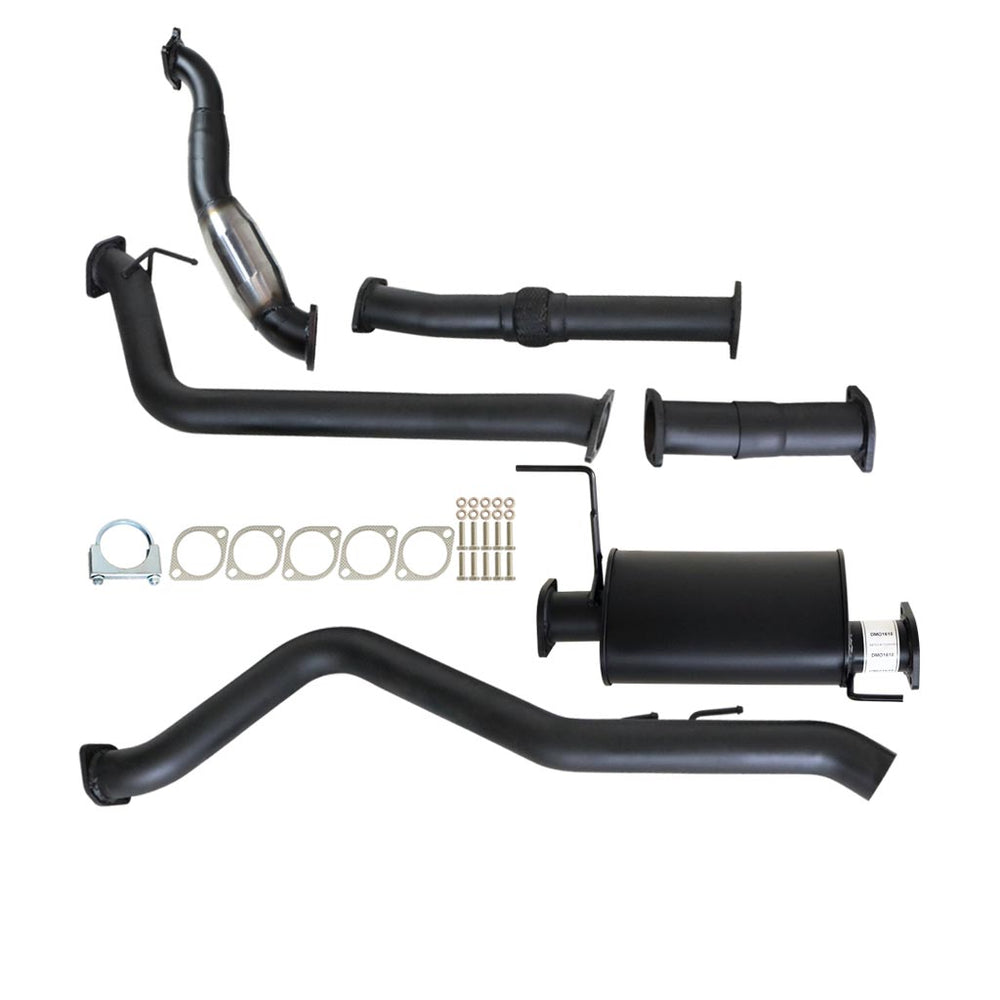Holden Colorado RC 08 09 10 3.0Lt 4JJ1-TC Turbo Back Exhaust With Cat & Muffler