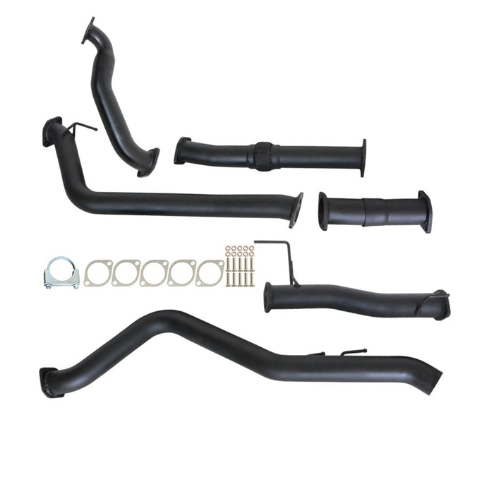 Isuzu D-Max RC 08 09 10 3.0Lt 4JJ1-TC Turbo Back Exhaust With Pipe Only