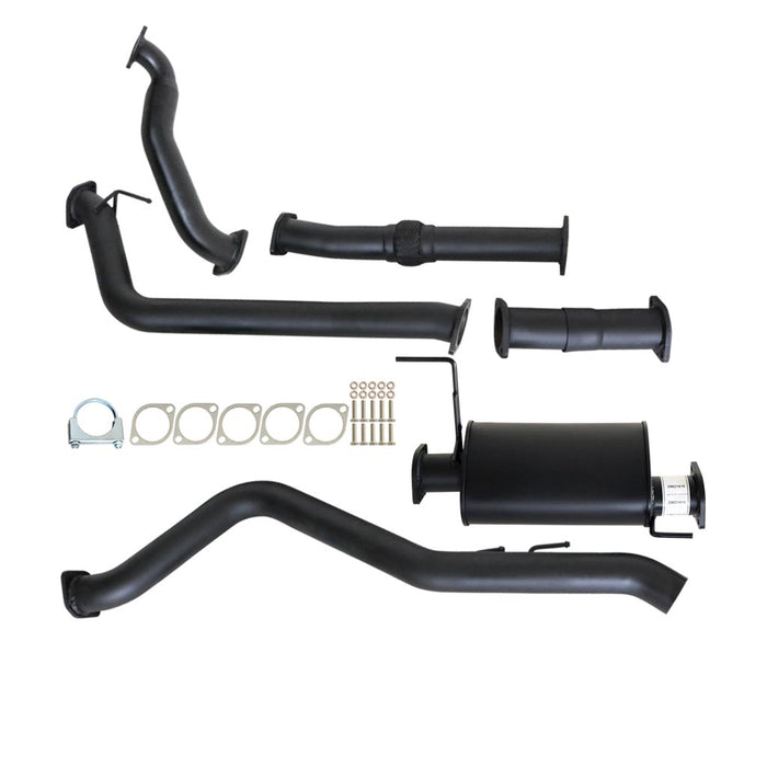 Isuzu D-Max RC 10 11 12 3.0Lt 4JJ1-TC Turbo Back Exhaust With Muffler & No Cat
