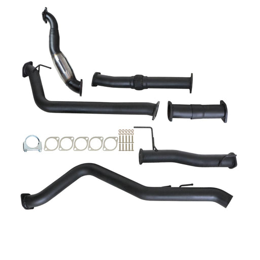 Isuzu D-Max RC 10 11 12 3.0Lt 4JJ1-TC Turbo Back Exhaust With Cat & No Muffler