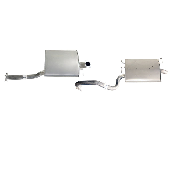 Ford Falcon BA BF 6cyl 4L XT Sedan - Replacement Cat Back Exhaust - Single Outlet