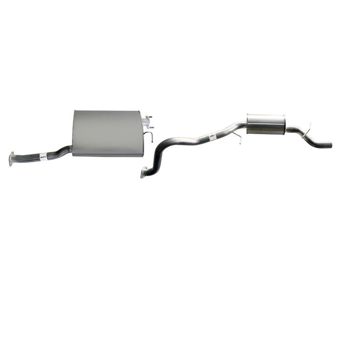 Ford Falcon BA BF 6cyl XT 4L Wagon - Replacement Cat Back Exhaust