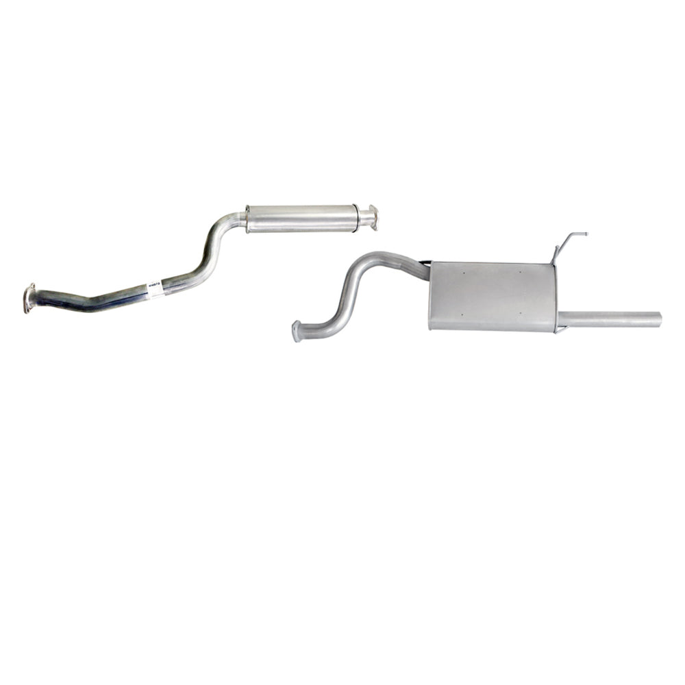 Ford Falcon BA BF 6cyl 4L Ute (Single Fuel LPG) - Replacement Cat Back Exhaust
