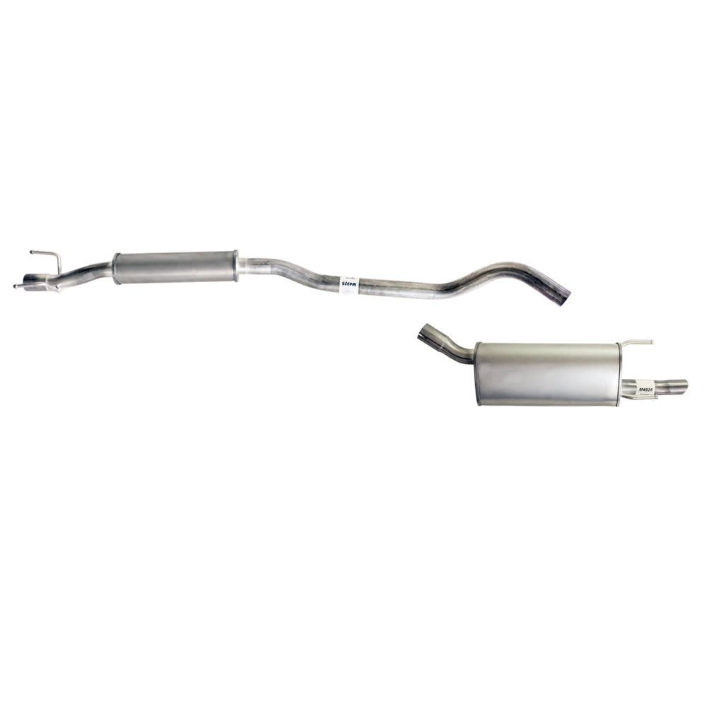 Holden Barina SB Hatch 1.2L, 1.4L - Replacement Cat Back Exhaust