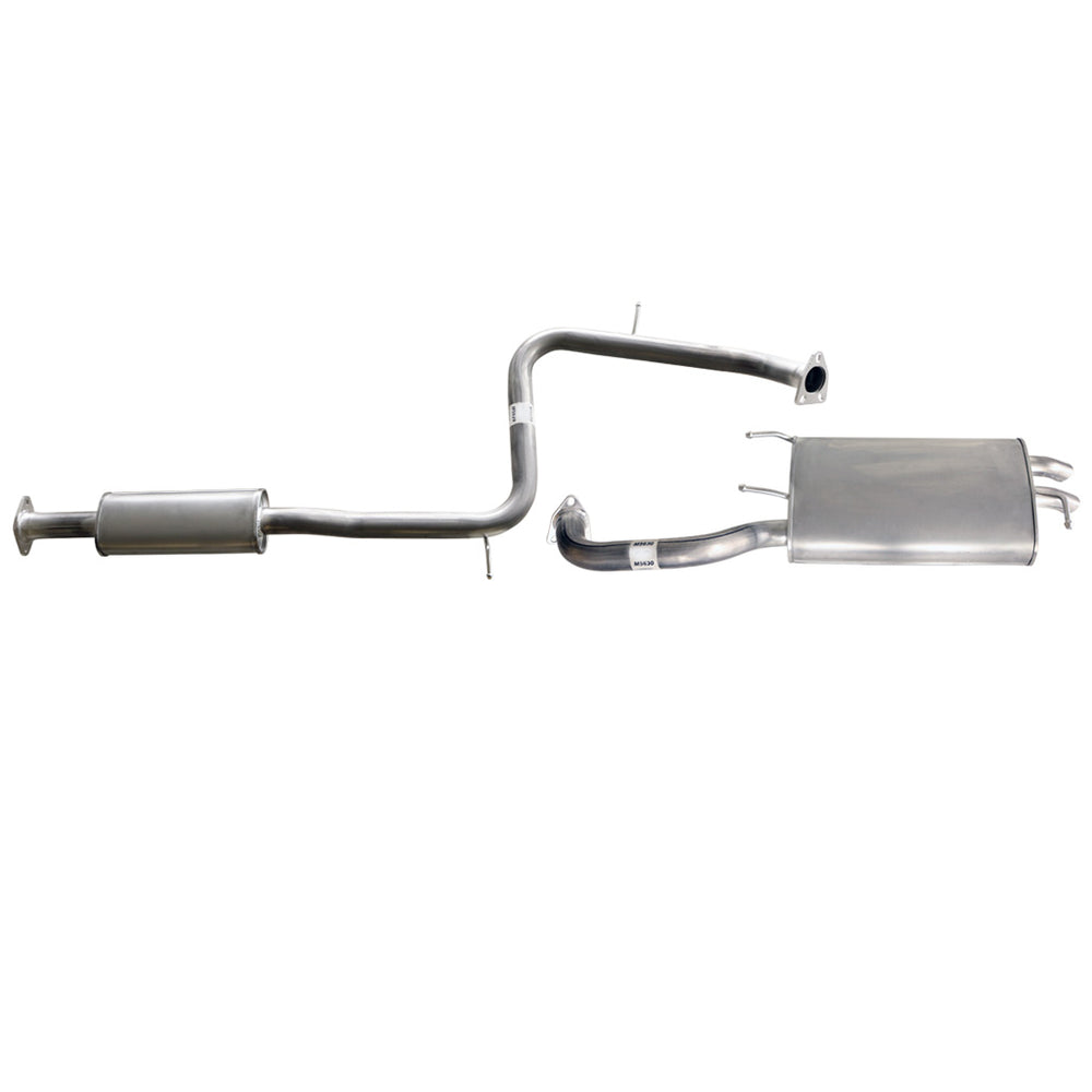Mitsubishi Magna TE TF 4cyl 2.4L & 6cyl 3L Sedan - Replacement Cat Back Exhaust