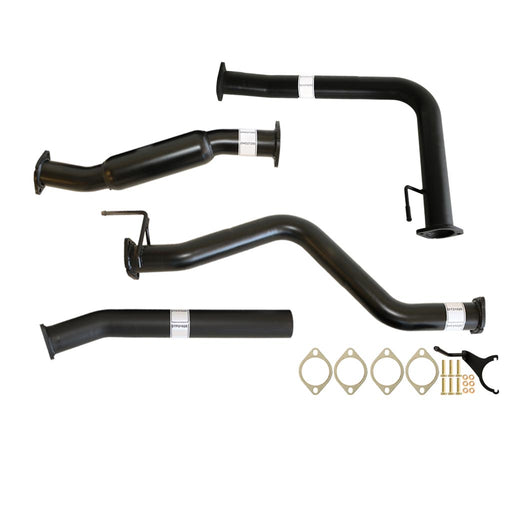 Nissan Navara D40 2.5L Auto 3 inch DPF Back Exhaust with Hotdog Only
