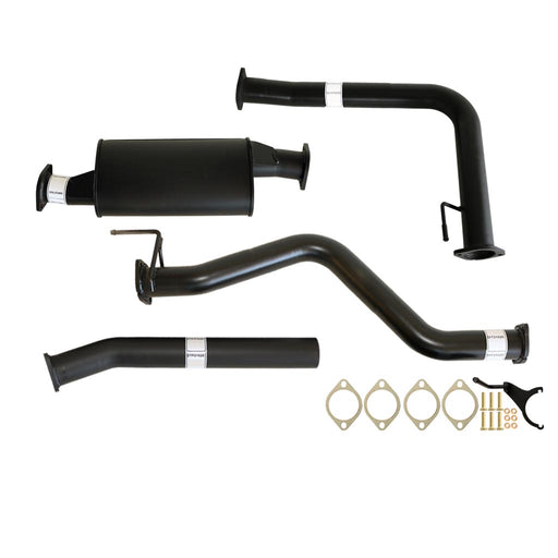 Nissan Navara D40 2.5L Auto 3 inch DPF Back Exhaust with Muffler Only