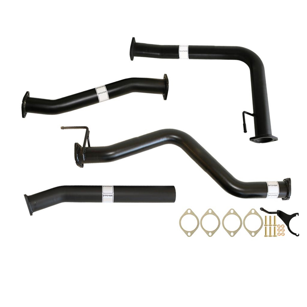 Nissan Navara D40 2.5L Auto 3 inch DPF Back Exhaust with Pipe Only