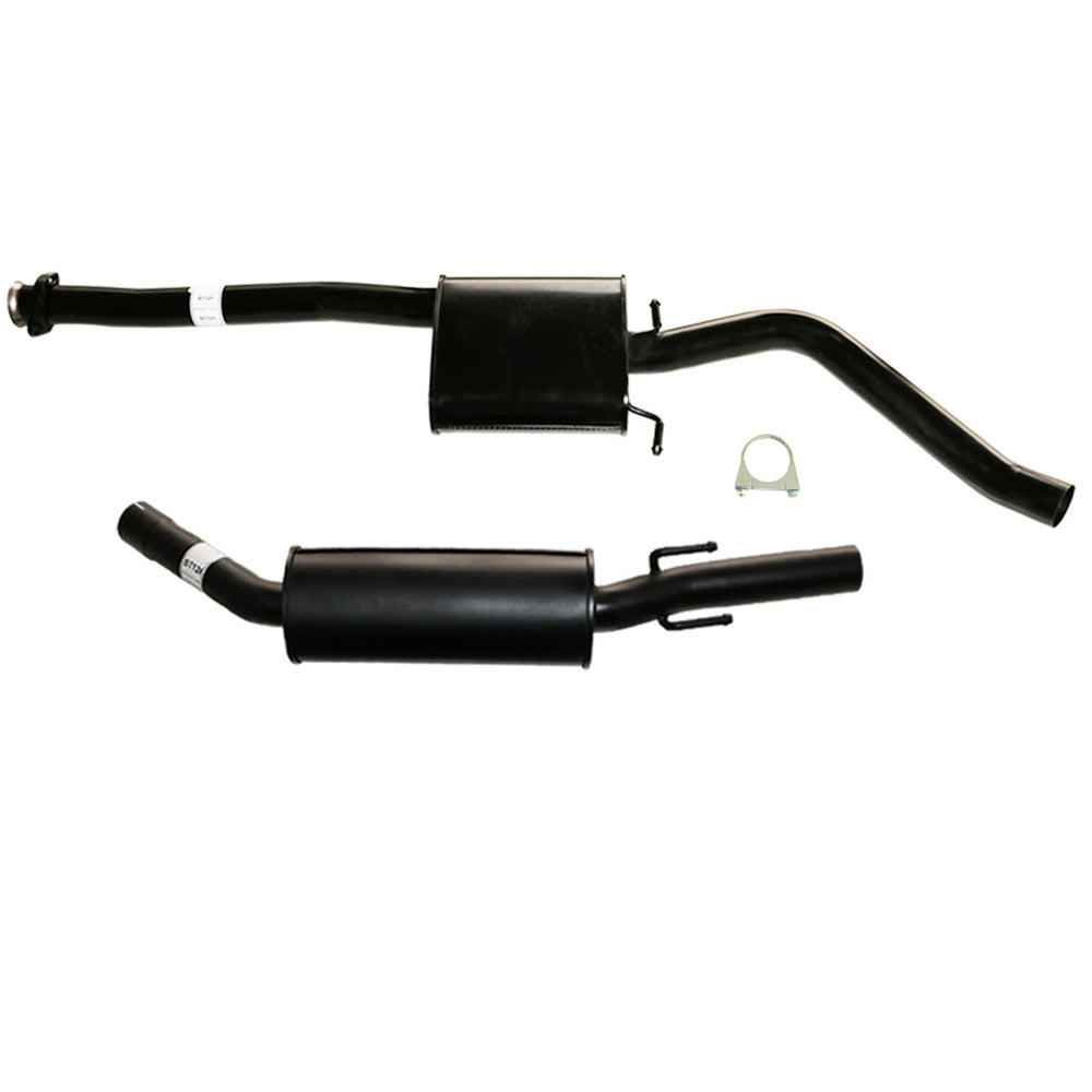 Commodore VY Series II V6 Ute & Wagon 2.5 inch Cat Back Exhaust Front & Rear Muffler