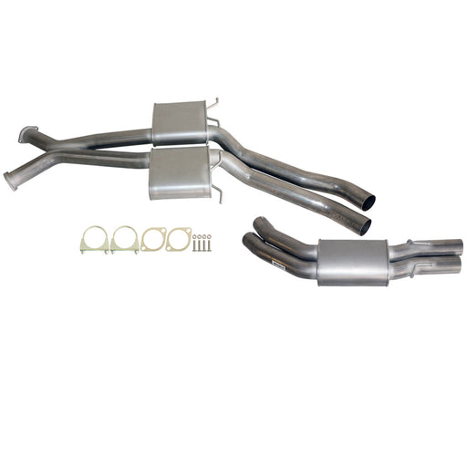 Holden Commodore VT VX VY VZ V8 5.7L 6L Sedan Twin 3 inch Exhaust