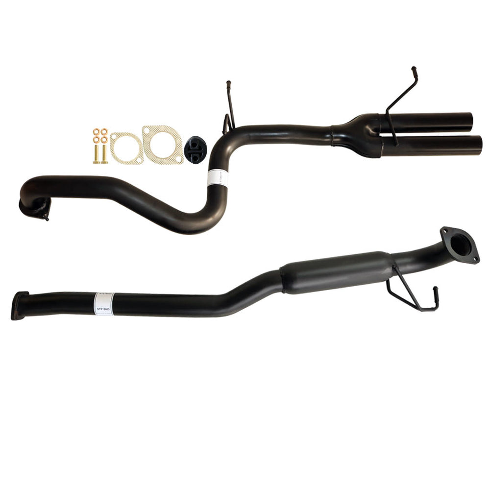 Falcon FG Xr6 Sedan 2.5 inch Catback Exhaust System Hotdog & Dual Outlet Tailpipe