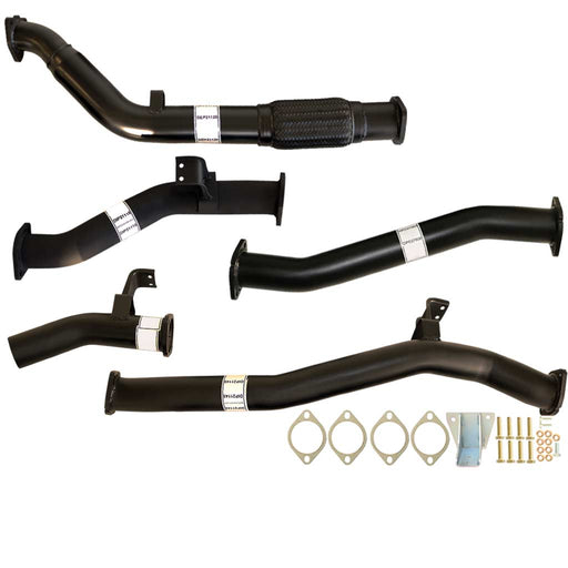 76 Series Landcruiser Wagon V8 VDJ76 3 inch Turbo Back Exhaust With Pipe Only