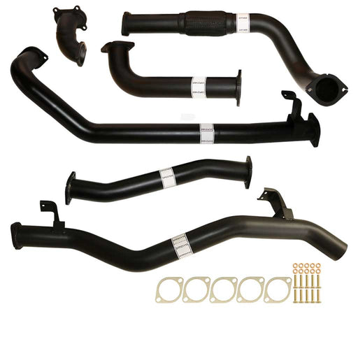 "Toyota Landcruiser 79 Series 1HD-FTE 4.2L Single Cab Ute 3"" Turbo Back Exhaust Pipe No Cat"